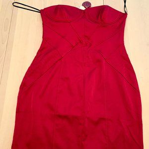 3/$40 Forever 21Red Dress Strapless l Party l Sexy